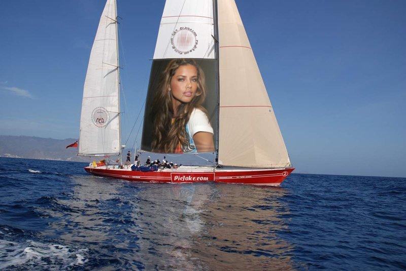 Fotomontajes de veleros, barcos en Picjoke