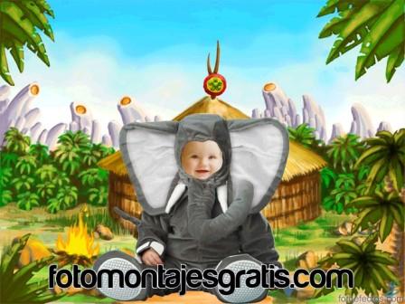 Si está buscando la forma de hacer hermosos fotomontajes para su bebe ...