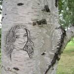 Foto en un árbol
