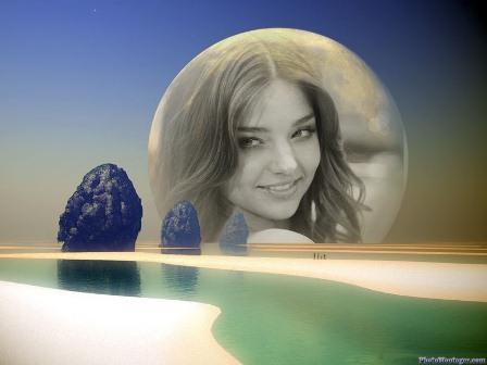 Fotomontajes con la luna
