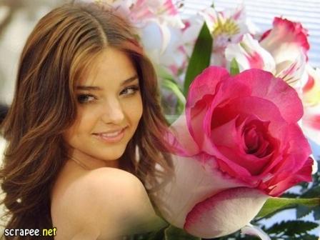 Si estas buscando hacer fotomontajes junto a rosas , ah