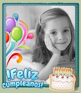 fotomontajes para cumpleaños de niños