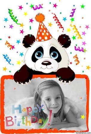 fotomontajes para cumpleaños infantiles