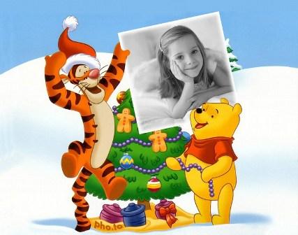 fotomontajes navideños para niños