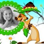 Fotomontajes con Timon y Pumba
