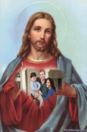 Fotomontajes hermososos de Jesús