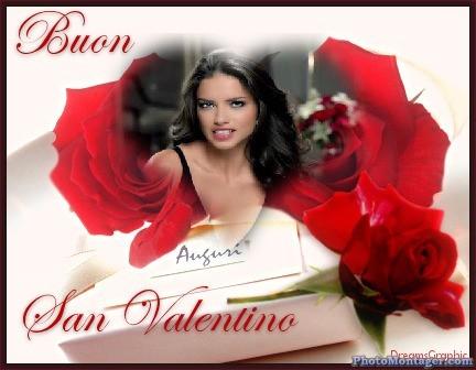 Bonitos fotomontajes de San Valentín gratis