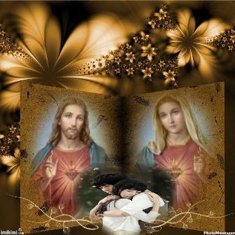 hermoso fotomontaje para semana santa
