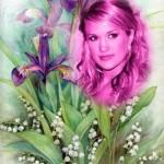 Fotomontajes gratis con bellas flores