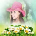 Fotomontajes hermosos con detalles de flores