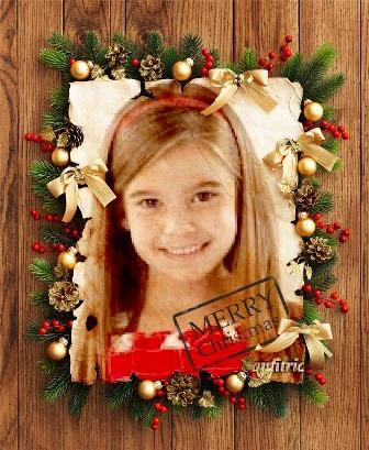 fotomontajes con diseños navideños