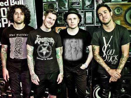 fotomontajes con la banda fall out boy