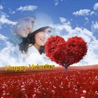 Fotomontajes de feliz día de San Valentín