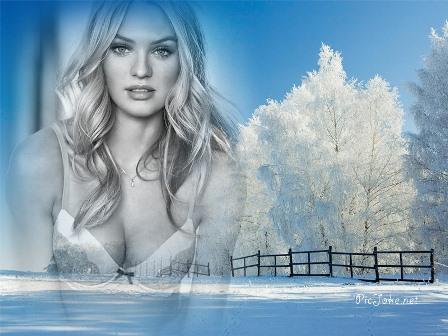 fotomontajes de invierno