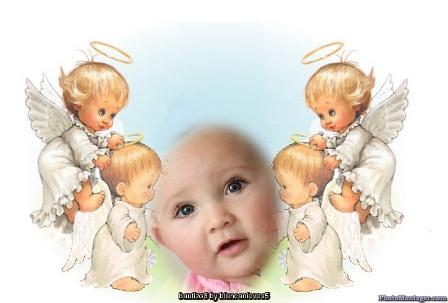 fotomontajes gratis online para bautizo