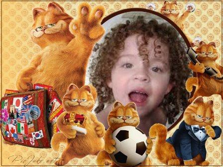 Fotomontajes con Garfield
