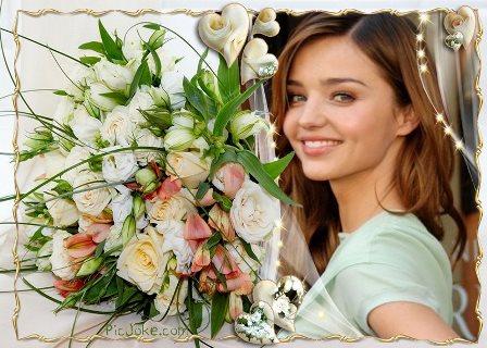 Fotomontajes con corazones y rosas
