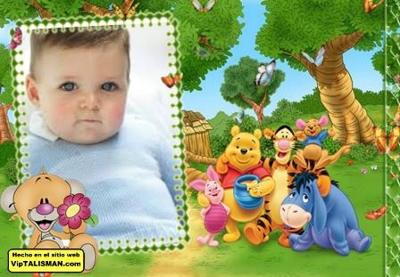 Fotomontajes con Winnie Pooh