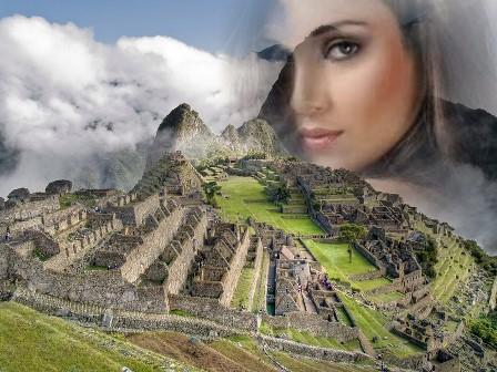 Fotomontajes en Machu Picchu