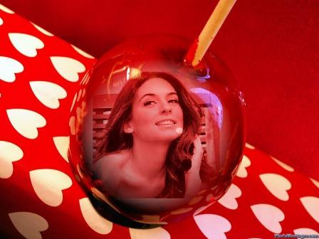 Fotomontajes en  una manzana