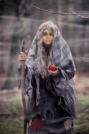 Fotomontajes como una bruja