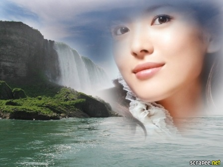 Fotomontajes en un lago