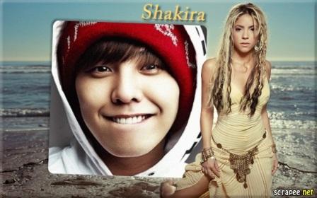 Fotomontajes con Shakira