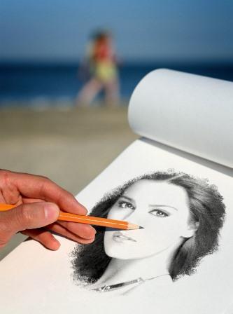 Fotomontajes con lápiz