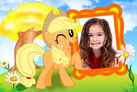 Fotomontajes con un lindo pony