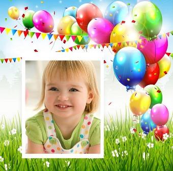 Bonitos fotomontajes para cumpleaños