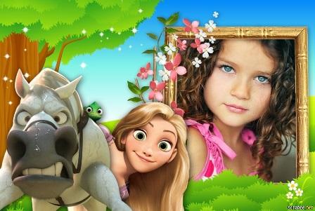 Fotomontajes bonitos para niñas