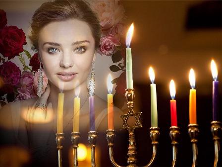 Fotomontajes con velas encendidas