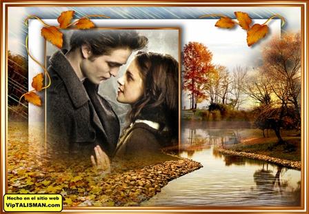 Fotomontajes de paisajes de otoño