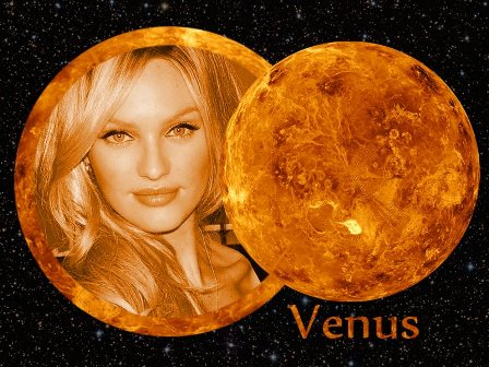 Fotomontajes en los planetas