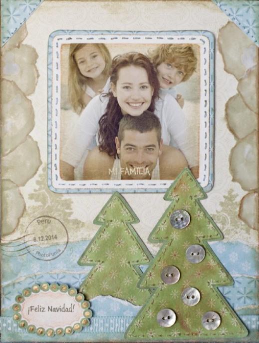 crear postal de navidad con foto