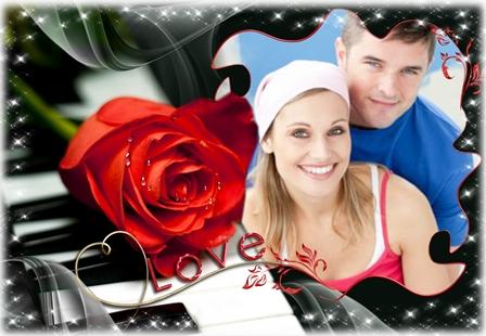 Fotomontajes para decorar fotos de parejas