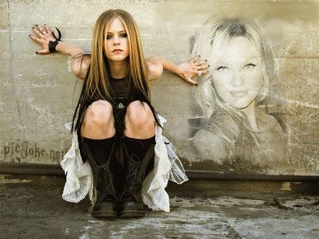 Fotomontajes con Avril Lavigne