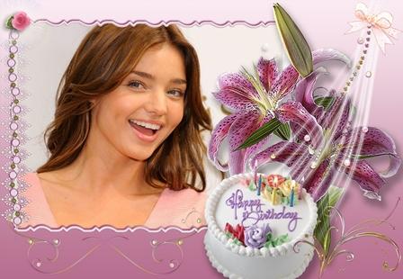 Tarjeta de cumpleaños online