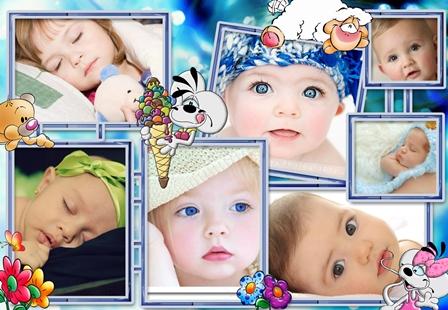 Fotomontajes para bebés online