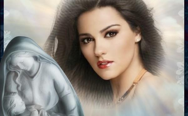 Fotomontajes con la Virgen María