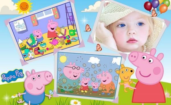 Fotomontajes con peppa pig