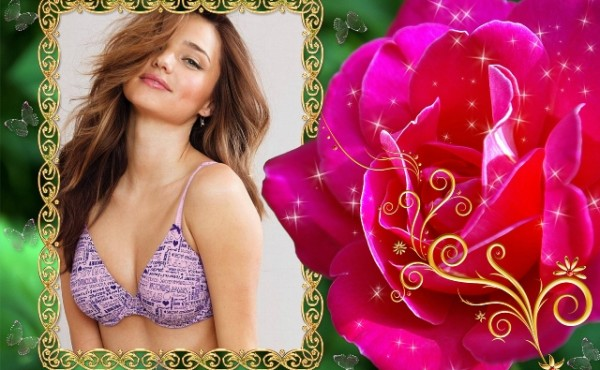 La delicadeza de una flor roja va de acorde con mi belleza2